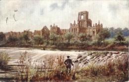 Charles Flower - Kirkstall Abbey At Leeds In Yorkshire -   1781 - Tuck, Raphael