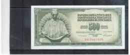 JUGOSLAWIEN , YUGOSLAVIA ,     500 Dinara    ,    16.5.1986   ,    Pick #91      , - Yugoslavia