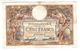 Billet - 100 Francs Merson -  AT.15.6.1933 - P.40903 - 100 F 1908-1939 ''Luc Olivier Merson''