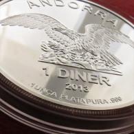 Andorra 1 Diner 2013 Eagle - Andorre