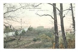 Cp, 95, Eragny, Le Village Et L´Oise, Voyagée 1906 ? - Eragny