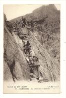 Cp, Alpinisme, Massif Du Mont-Blanc, Chamonix (74), La Cheminée Du Brévent - Alpinisme