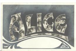 =SCHWEIZ AK 1906 ALICE - Vornamen