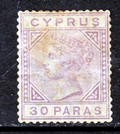 Cyprus  20  Die 2  *   1882-94  Issue - Cyprus (...-1960)