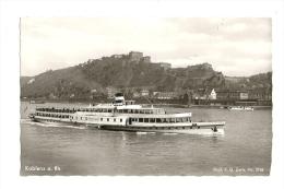 Cp, Allemagne, Koblenz, Festung Ehrenbreitstein - Koblenz