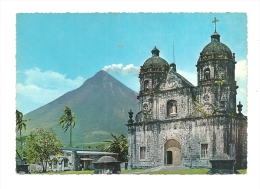 Cp, Philippines, Old Chuch And Mayon - Philippines