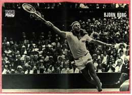 Kleines Poster  -  Björn Borg  -  Rückseite : Maikäfer - Von Pop-Rocky Ca. 1981 - Bekleidung, Souvenirs Und Sonstige