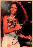 Kleines Musik Poster  -  Donna Summer  -  Von Bravo Ca. 1982 - Plakate & Poster
