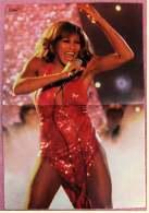 Kleines Musik Poster  -  Tina Turner  -  Rückseite : Jürgen Drews  -  Von Bravo Ca. 1982 - Plakate & Poster