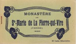 89 - SAINTE MARIE DE LA PIERRE QUI VIRE - étui De 20 Cartes Postales - France