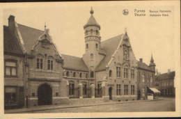 Belgique-Carte Postale Neufs-Veurne-Banque Nationale-2/scans - Banques