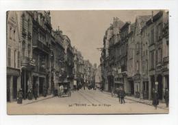 CPA  51: REIMS  Rue De L'étape  A  VOIR  !!!!!!! - Reims