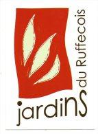 Carte Publicitaire - Jardins Du Ruffecois - Charente - Publicité