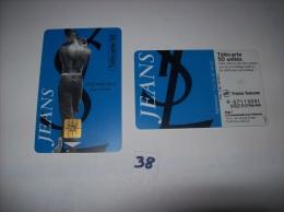 YVES SAINT LAURENT - JEANS Pour Homme - Telecartes France 50  Unités - Voir Photo (38) - Parfum