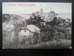CP Carte Postale Postkarte Hambourg Hamburg Blankenese Sullberg Vom Bismarckstein (4) - Blankenese