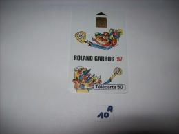 ROLAND GARROS  97 - Telecartes France  50 Unités - Voir Photo (10 A) - Sport