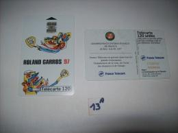 ROLAND GARROS  97 - Telecartes France  120 Unités - Voir Photo (13 A) - Sport