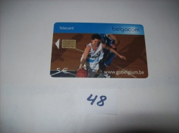 BASKET  - Telecarte Belgique 5 Euros- Voir Photo (48) - Sport