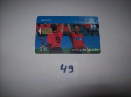 HOCKEY Sur Gazon  - Telecarte Belgique 5 Euros- Voir Photo (49) - Sport