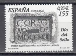 ESPAÑA 2001 - DIA DEL SELLO - Edifil Nº 3780 - Yvert 3347 - Journée Du Timbre