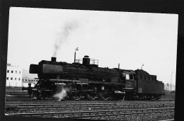 LOCOMOTIVE ALLEMANDE 1968 PHOTO  PHOTO ORIGINALE DAHLSTROM - Trains