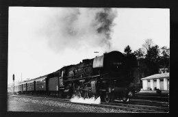LOCOMOTIVE ALLEMANDE  PHOTO ORIGINALE DAHLSTROM 1972 - Trains