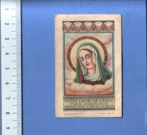 VINTAGE HOLY CARD ** IMAGE PIEUSE ** HEILIG PRENTJE **NOTRE DAME DE GRACE VIERGE MIRACULEUSE - Images Religieuses
