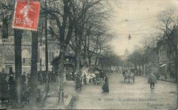 N°34449 -cpa Caen -le Boulevard Saint Pierre- - Caen