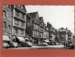 (22) LANNION, Vieilles Maisons Du XVe Et XVIe En 1964 CPSM  Nombreux Magasins.KODAK .Voitures D'époque - Lannion