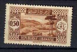 Liban Y&T 131 (*) - Líbano
