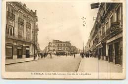 MELILLA  - Calles Pablo Iglesias Y Avenida De La Republica. - Melilla