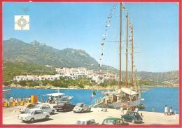 CARTOLINA VIAGGIATA ITALIA - PORTO CERVO (OT) - Molo - Porto - Barche - Costa Smeralda - ANNULLO PORTO CERVO ANNI '60 - Altre Città