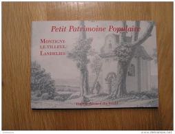 PETIT PATRIMOINE POPULAIRE Montigny Le Tilleul Landelies Huybrecht Bernard Régionalisme Région Charleroi Wallonie - Belgium