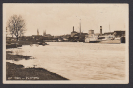 SERBIA - Pančevo, Pancsova, Year 1932, Dampfer, Steamer, Old Postcard - Serbie
