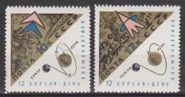 Russie N° 3088 - 3089 *** Journée Des Cosmonautes - Luna X - Luna IX - 1966 - Unused Stamps