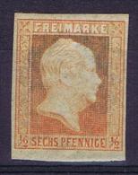 Deutschland: Preussen, Mi 1 Unused/MH, Neudruck II - Preussen (Prussia)