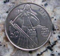 MONETA DA 50 LIRE DI SAN MARINO DEL 1973  IN FDC - - San Marino