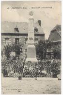 CPA JEANTES - MONUMENT COMMEMORATIF - MORTS POUR LA PATRIE - Autres Communes