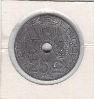 25 CENTIMES Zinc Léopold III 1943 FL/FR - 1934-1945: Leopold III