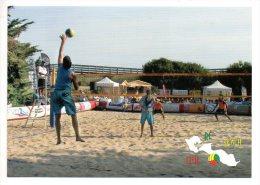 Carte Publicitaire - Beach Club - Le Bois Plage En Ré (Charente Maritime) - Volleyball