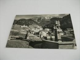 Selva Di Val Gardena  Gruppo Sella Piccolo Formato Fontana Con Gnomo Che Porta Un Fungo - Italia