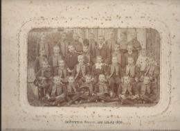 Ecole/Institution Segaux/Les Lilas / Photo de classe/David/Levallois /Paris/1906               PH115