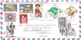 Brief - Letter - Lettre Spain To Belgium - Espagne