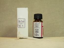 AU-12: Liquido Per Oro Test 12 Carati. - Materiale