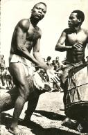BOUAR ( OUBANGUI-CHARI ) : TAM-TAM ACCOMPAGNANT DES DANSES DE CIRCONCIS 41 - Centrafricaine (République)