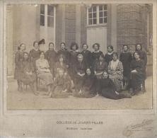 Photographie de Classe/Coll�ge de Jeunes Filles/EVREUX/Tourt�ge & Petitin / Levallois/1920-1921        PH117