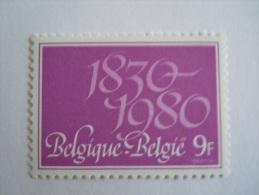 België Belgique Belgium 1980 150 Jaar Onafhankelijkheid Ans Indépendance Yv 1964 COB 1961  MNH ** - Belgien