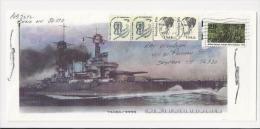 Lettre Des USA De 2000 - Porte Avions - Bateau - Navire De Guerre - Dorothea Dix - Enveloppe - Bateaux