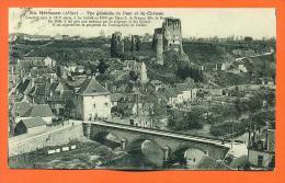 """Dpt  03  Herisson  """"  Vue Generale Du Pont Et Du Chateau  """" - Other Municipalities"""