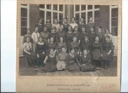 Photographie de Classe/� Ecole Sup�rieure de Jeunes Filles/Charleville/Tourte z & Petitin/Levallois/1920-21    PH122